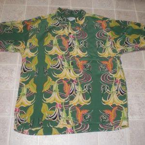 50 1st Dates Movie Avanti Silk Hawaiin Shirt Sz XL